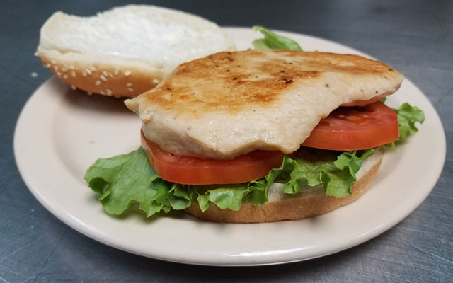 Cassano's Grilled Chicken Sandwich