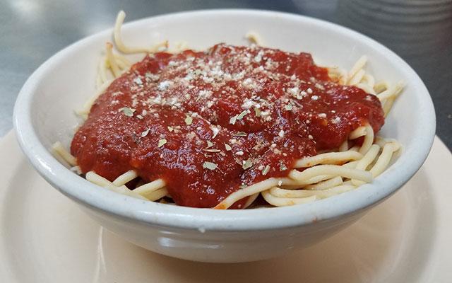 Cassano's Side Spaghetti
