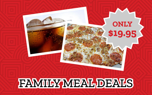 "Cassano's One 16"" Pizza and Drink Deal"